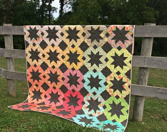 Starflakes PAPER Quilt Pattern #112