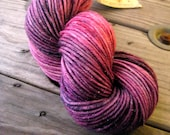 Poison Plum on Nyx DK Sparkle 80/20 supermerino nylon w/ 5% sparkle