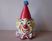 Inarco Clown Head Planter