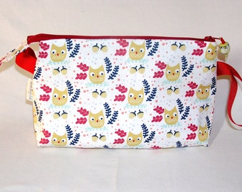 Wee Owls and Acorns Tall Mia Bag