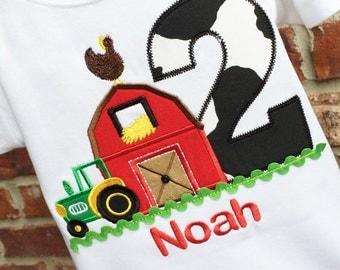 Boys Barnyard Birthday,Boys Farm Birthday, Boys Barn Birthday,Personalized Barnyard Birthday,Barnyard Birthday Shirt,Barnyard Birthday Ideas