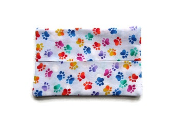 Paw Print Tissue Holder
