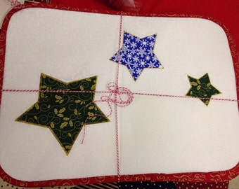 Holiday Star placemats set of 4