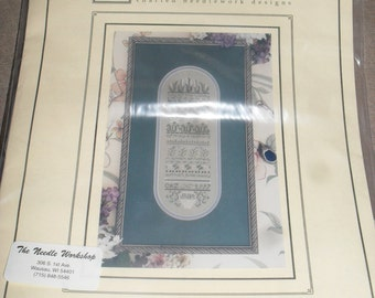 Cross Stitch Pattern Kit -  Lily of The Valley - The Drawn Thread
