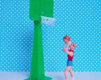 Basketball Cake Topper Vintage
