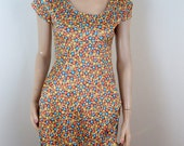Vintage 70s Hippie Dress handmade in Southern California