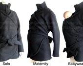 Maternity. Maternity Coat. Maternity Clothes. Baby Clothes. Maternity Jacket. Babywearing Jacket. Baby Wearing.