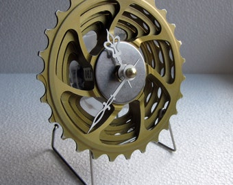 Recycled KCNC Bicycle Cassette Desk Clock
