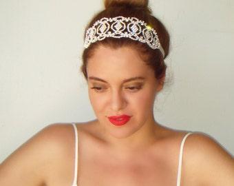 Bridal headband, Bridal headpiece, Bridal, Wedding headband, Wedding hair. Gatsby, Statement, Accessories, Bridesmaid, Bridal hair, SEVILLE