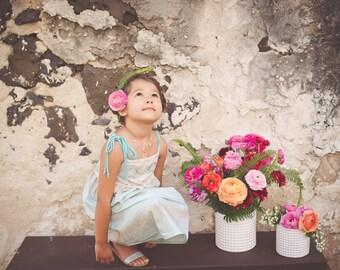 Girls dress - Toddler Dress - Boutique style dress- Made on Maui, Hawaii USA by bitty bambu