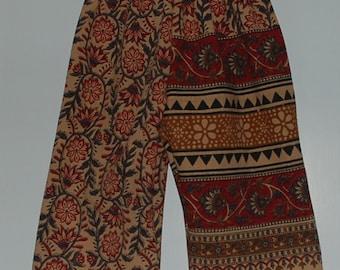 Hippie Kids pants -Black Red Diamond - size 2 -Boys or Girls- Read measurements