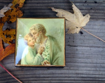 Vintage Lacquered Russian Box