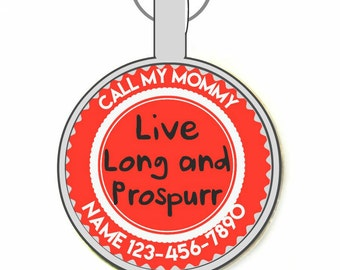 Live Long and Prospurr ID Tag, More Colors!
