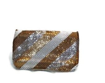 Vintage Multi Color Mesh Metal Handbag Vintage Metal Mesh purses Vintage Purses and Handbags Vintage Evening Purses Metal Mesh Handbags