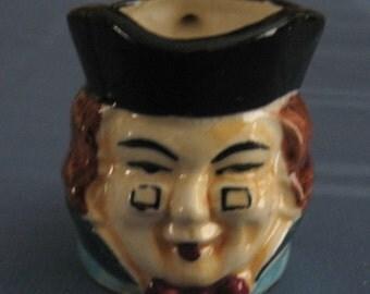 Vintage  Toby Pitcher Ceramic Creamer Made In Japan