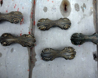 Vintage cupboard cabinet knobs handles drawer pulls - 5 available