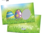 Scratch Off Easter Game Easter Egg Scratch Off Game Cards Colorful Spring Design