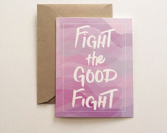Fight the Good Fight Card