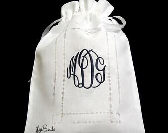 Irish Linen Wedding Money Purse, Brides Money Bag, Wedding Card Purse, Dollar Dance Bag, Brides Money Bag, Style 9843