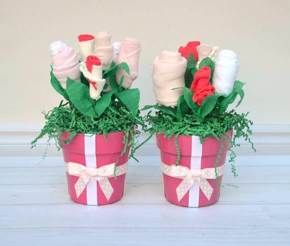 Baby Girl Shower Decorations Set Of 2 Baby Shower By
