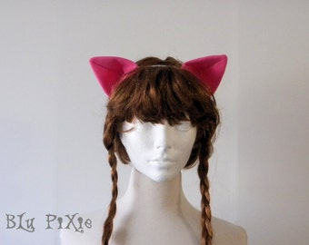 Pony Ears, Cat Ears, Fox Ears, My Little Pony Halloween Costume Animal Ears, Kids and Adult, Cons Cosplay Accessories