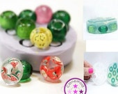 20% SALE Small Rounded Bead Mold