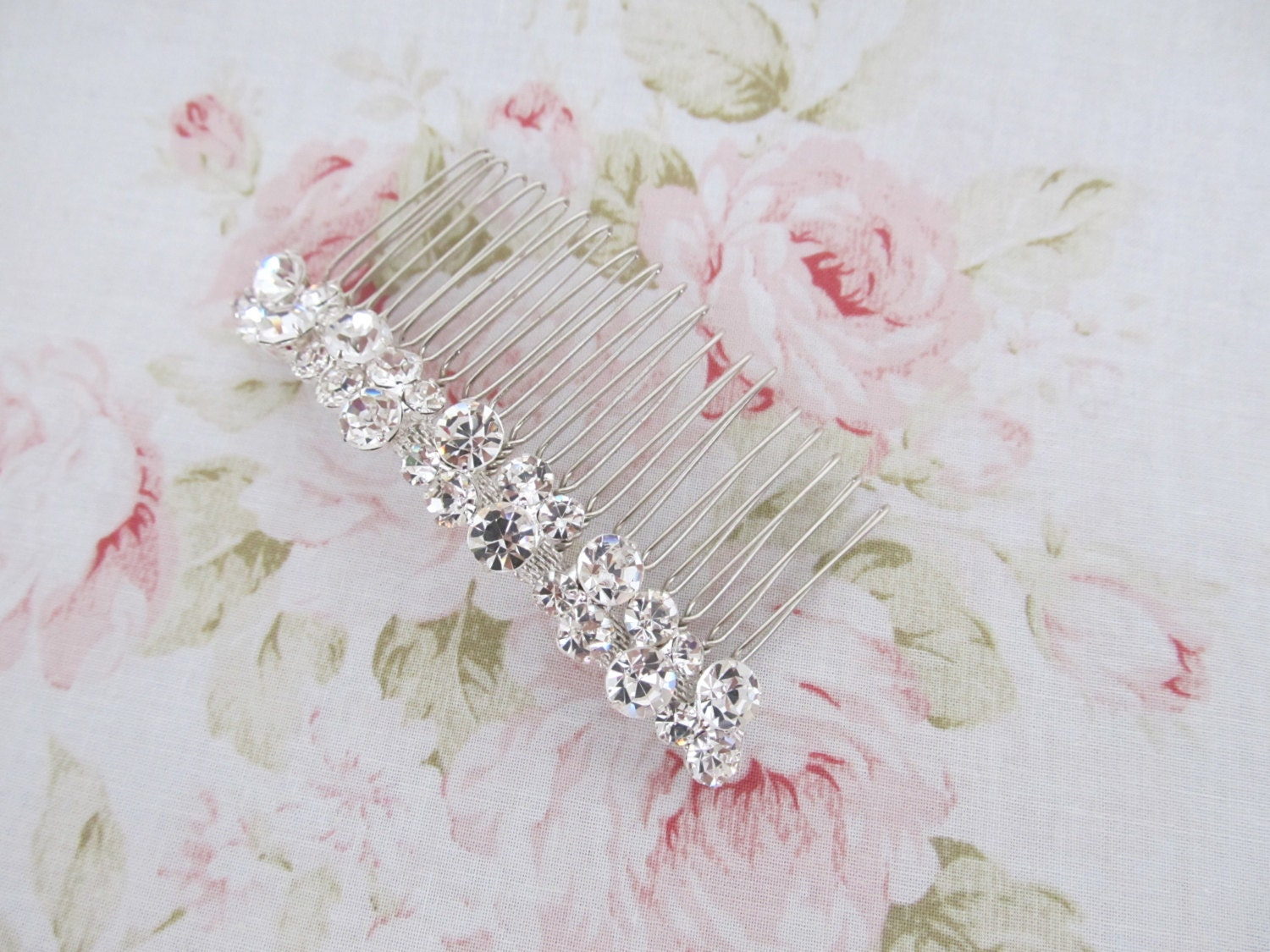 Bridal Hair Comb,Crystal Rhinestone Wedding Hair Comb,Bridal Hair Accessories,Wedding Accessories,Decorative Hair Comb,#C8