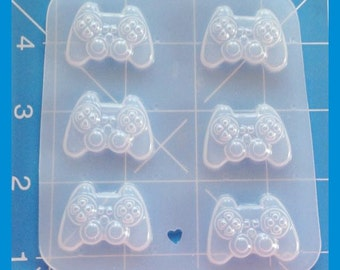 "1"" Kawaii Video Game Controllers Handmade Plastic Resin Mold"