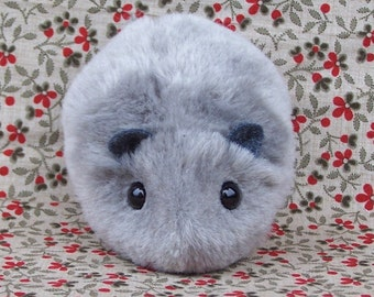 Little Gray Hamster Handmade Toy Plushie