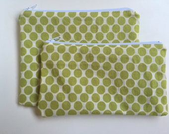 Zipper Bag Set Snack Bag Sandwich Polka Dot