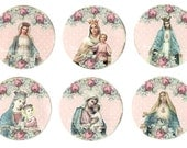 Stickers, Holy Card, Religious Images, Religious Stickers, Seals