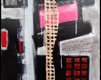 Art Painting Abstract Original Acrylic by Kim Bosco