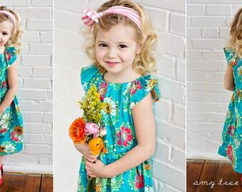 Lollipops and Sunshine nelle dress, size 12mos.-8 girls