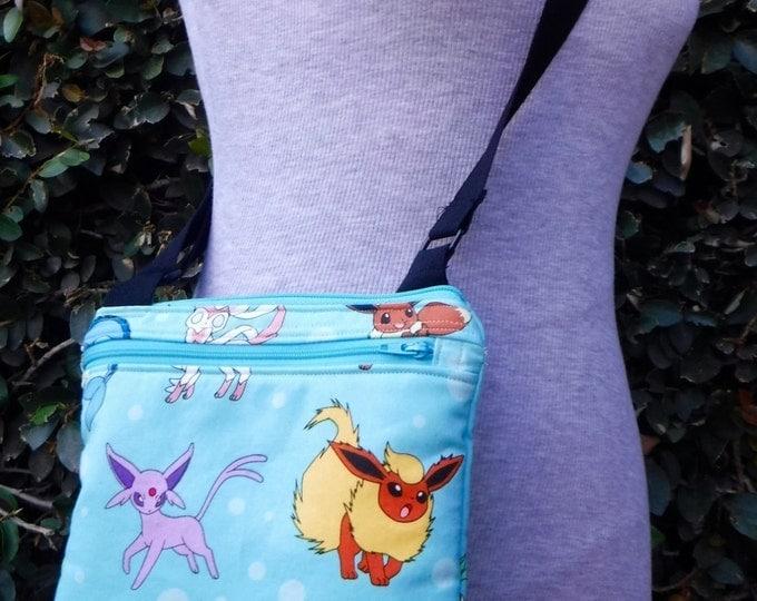 Kaufman Pokemon cross body purse - small/padded