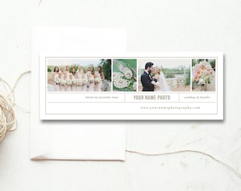 Facebook Cover Template for Photographers - Photo Marketing Templates - Facebook Timeline Design - Design By Bittersweet