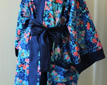 Maternity Hospital Gown and Nursing Robe Pkg in Joanne - Perfect for First Pictures - Awesome for Hospital and Recovery