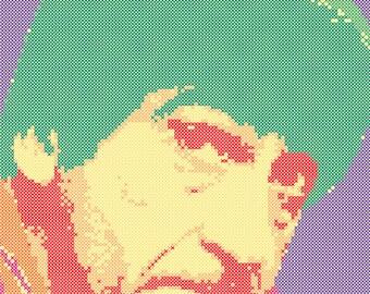 The Second Doctor Cross Stitch Pattern PDF