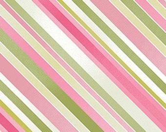 Sundance by Benartex  Cotton Fabric  04784-24  Diagonal Stripe