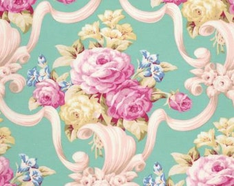 Nostalgia   by Jennifer Paganelli for Free Spirit Fabrics PWJP103-GRN Green Kumi
