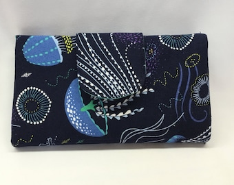 Jellyfish Trifold Wallet