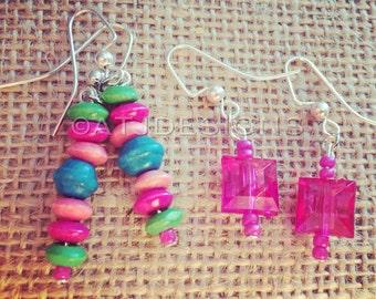 Summer Earrings 2 pair