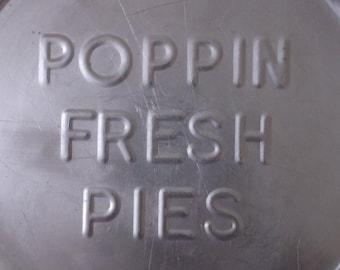 Vintage Poppin Fresh Advertising Pie Tin