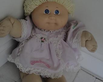 Vintage Cabbage Patch Kid Doll Blonde