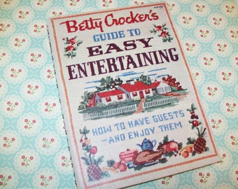 First Edition, 3rd Printing, 1959, Betty Crocker Guide to Easy Entertaining