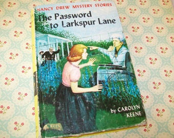 SALE - Nancy Drew Book, The Password to Larkspur Lane, 1960s