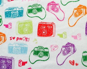 I love photo fabric - Fat Quarter