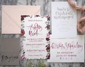 Invitation Sample Pack | Option 2