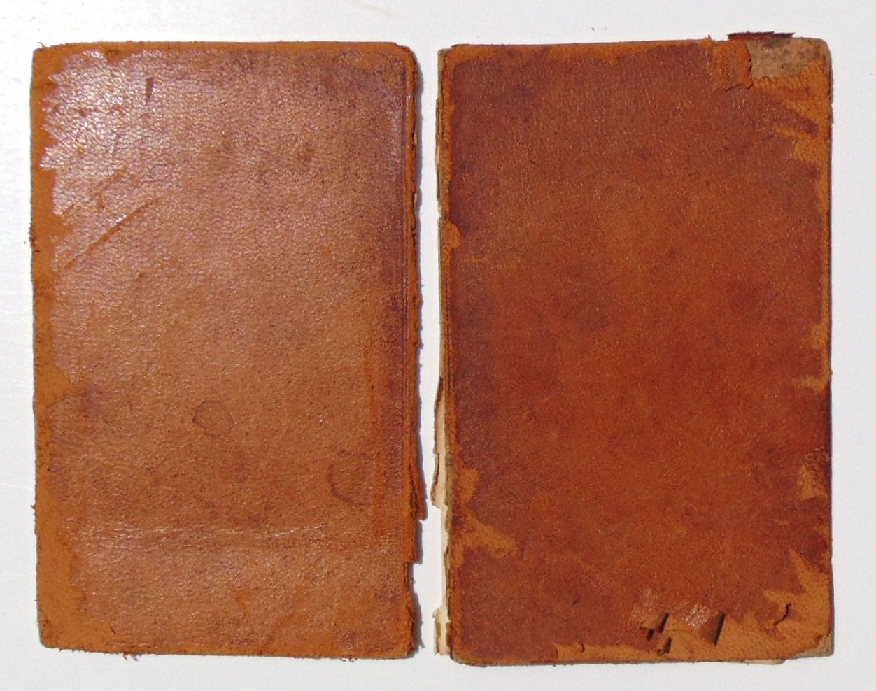 Leather book jacket