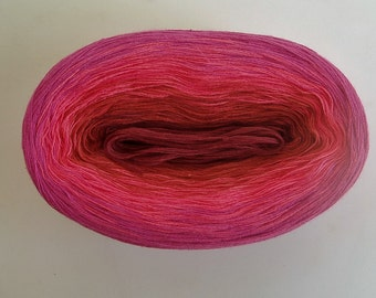 KALEIDOSCOPE II  -- 150 gr/720 yards -- Color Changing Cotton yarn   Fingering Weight