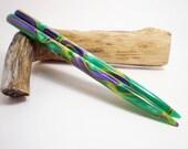 Acrylic Hair Sticks - Bourbon Street - 6 inches (15.24 cm) No 576